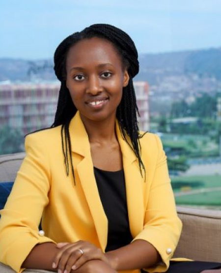 Portrait Clarisse Iribagiza, entrepreneuse à 22 ans