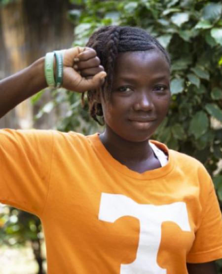 Sarah, lutter pour les femmes de son village